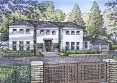 Polhemus Avenue Residence