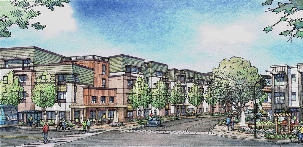 Color Pencil Rendering for Santa Rosa Housing Project